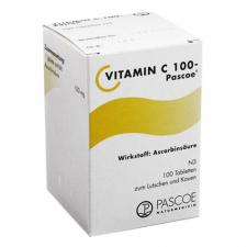 Vitamina C 100 Tabletas Pascoe