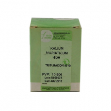Kalium Muriaticum 6Dh Trituracion 50 Gr Iberhome