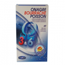 Obp Onagra-Borraja-Salmon 60 Capsulas Orthonat