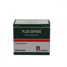 Plus Defens 36 Capsulas Helth Nature Fharmocat