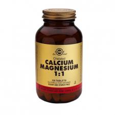 Calcio-Magnesio Quelado 1:1 120 Comprimidos Solgar