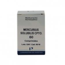 Mercurius Sol Cpto 60 Comprimidos Biotica