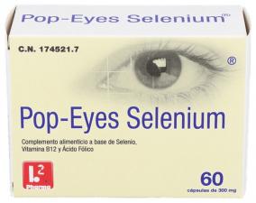 Pop-Eyes Selenium 60 Cápsulas - Farmacia Ribera