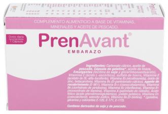 Prenavant Embarazo 30 Capsulas - Varios