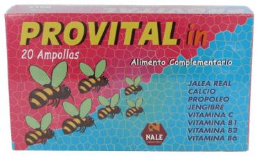 Provital Infantil 20 Ampollas Nale