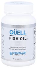 Qüell Fish Oil Rico en DHA 60 perlas - Douglas