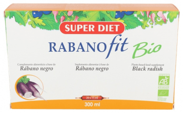 Rabano Negro 20 Ampollas Super Diet