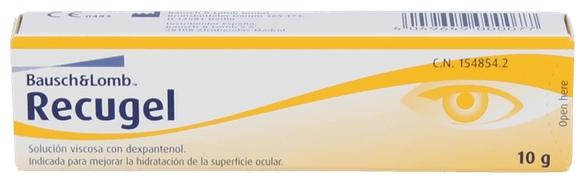 Recugel Gel Oftalmico 10 Gr - Varios
