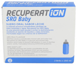 Recuperat-ion Suero Oral S.R.O. Baby 250 Ml 2 Bricks