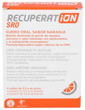 Recuperation 4 Sobres Naranja ( 800 Ml)
