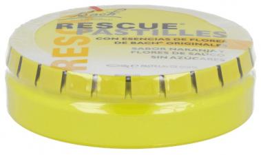 Rescue Pastillas Sabor Naranja - Sauco 50 Gr