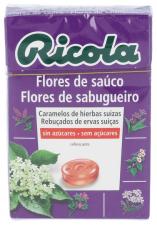 Ricola Caramelos Sin Azúcar Flor de Saúco 50 gr.