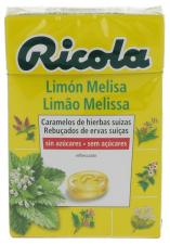 Ricola Caramelos Sin Azúcar Limón-Melisa 50 gr.