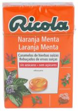 Ricola Caramelos Sin Azucar Naranja-Menta 50 Gr. - Diafarm