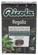 Ricola Caramelos Sin Azucar Regaliz - Diafarm