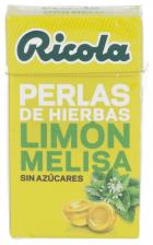 Ricola Perlas Sin Azúcar Limón Melisa 25 gr.