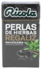 Ricola Perlas Sin Azúcar Regaliz 25 gr.