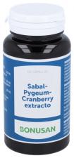 Sabal Pygeum - Cranberry Extracto 60V Cap.  - Bonusan