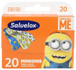 Salvelox Aposito Adhesivo Minions 20 Apositos In - Varios