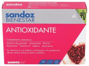 Sandoz Bienestar Antioxidante 30 Caps