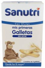 Sanutri Mis Primeras Galletas 24 Unidades 8M+ - Farmacia Ribera
