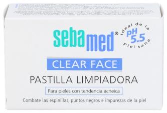 Sebamed Limpiador Pastilla Clear Face 100 G - Leti
