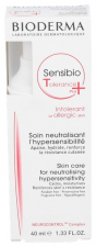 Sensibio Tolerance Plus Bioderma 40 Ml - Bioderma