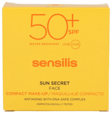 Sensilis Sun Secret Maquillaje Compacto Spf50+ Golden 10Gr - Farmacia Ribera