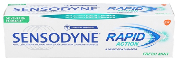 Sensodyne Rapid 75 ml.