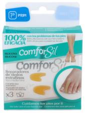 Separadedos De Silicona Comforsil Extrafino Talla Media 2 Unida - Farmacia Ribera