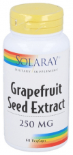 Solaray Grapefruit Seed 250 Mg 60 Cápsulas