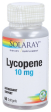 Solaray Lycopeno 10 Mg 60 Perlas