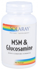 Msm And Glucosamine 90 Capsulas Solaray
