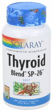 Solaray Thyroid Blend 100 Cápsulas