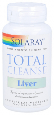 Solaray Total Cleanse Liver 60 Cápsulas