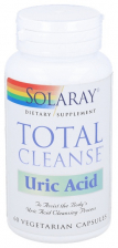 Total Cleanse Uric Acid 60 Capsulas Solaray