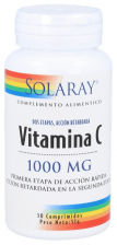 Solaray Vitamina C 1000Mg 30 Comprimidos
