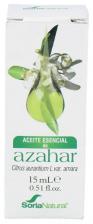 Soria Natural Azahar Aceite Esencial 15 Ml - Farmacia Ribera