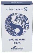 Soria Natural Chinasor 09 Bao He Wan 30 Comp. - Farmacia Ribera