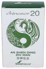 Soria Natural Chinasor 20 An Shen Ding Zhi Wan 30 Comp.
