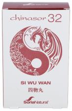 Soria Natural Chinasor 32 Si Wu Wan 30 Comp. - Farmacia Ribera