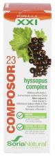 Composor 23 Hyssopus Complex Gotas 50 ml.- Farmacia Ribera