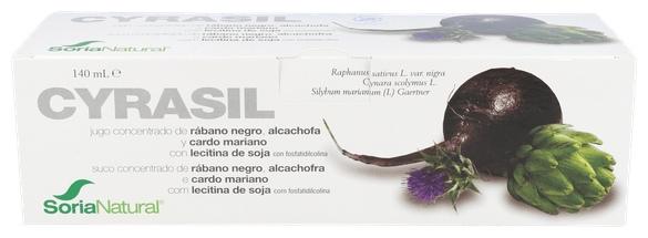 Soria Natural Cyrasil 14 Viales - Farmacia Ribera