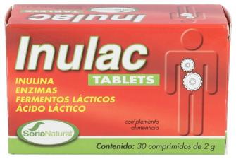 Soria Natural Inulac Tablets - Farmacia Ribera