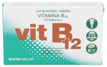 Soria Natural Retard Vitamina B12 48 Comp. - Farmacia Ribera