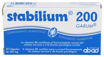 Stabilium 30 Capsulas Kiluva