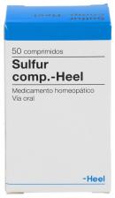 Sulfur compositum Heel 50 comprimidos