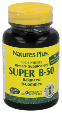 Super B-50 60 Capsulas Nature'S Plus