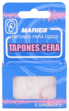 Tapones Oidos Cera Maries 6U