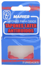 Tapones Oidos Maries Latex Antiruido 2U